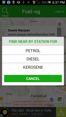 Fuel Station Finder